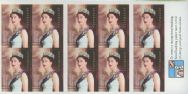 Aus SG2304a 50th Anniversary of Coronation self-adhesive booklet pane (SB161)